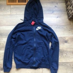 Navy Nike zip up